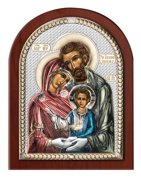 Серебряная икона Святое Семейство (Valenti & Co, Италия)