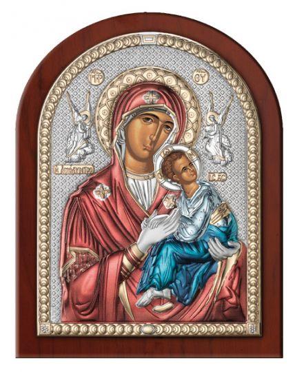 Серебряная икона Дева Мария Амолинта (Благая) (Valenti & Co, Италия)