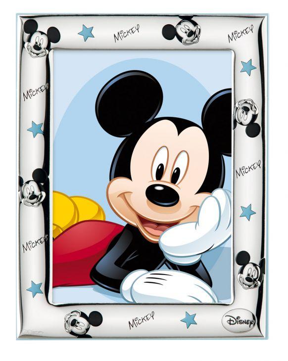 Детская серебряная фоторамка Disney, для фото размером 9*13см. (Valenti & Co, Италия)