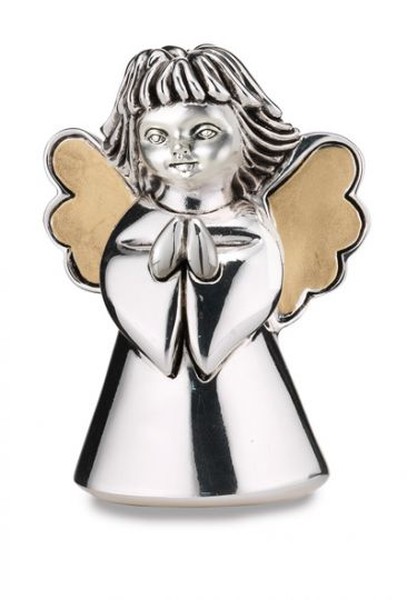 Серебряная фигурка молящегося ангела (Valenti & Co, Италия)