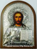 Купить икону Исуса в серебряном окладе интернет-магазин