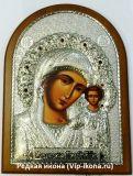 Купить серебряную икону Богородицы