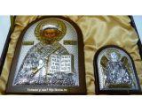 Купить дорогую икону в серебре и золоте