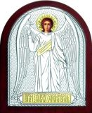 Икона Ангела Хранителя (12*16) в серебре и золоте